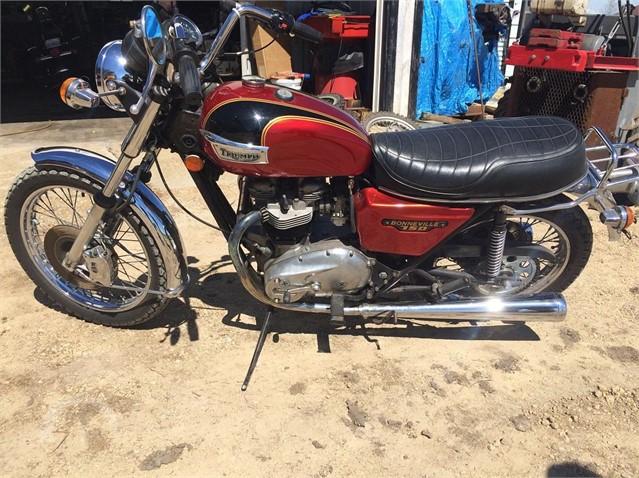 Auctiontimecom 1979 Triumph Bonneville T140 Online Auctions