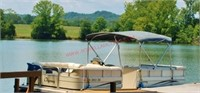 2006 Odyssey Pontoon Boat