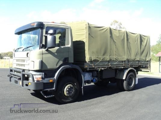 2002 Scania 114 4x4|Off Road Truck and Bus|Table / Tray Top Drop Sides