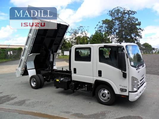2019 Isuzu NPR 65 190 CREW TIPPER - Trucks for Sale