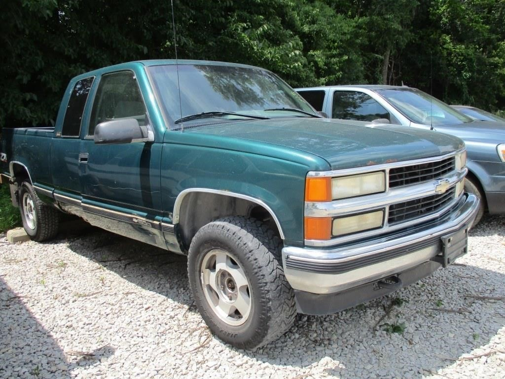 1996 Chevrolet C K 1500 Series K1500 Silverado Graber Auctions