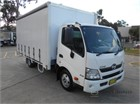 2016 Hino 300 Series 616 Tautliner / Curtainsider