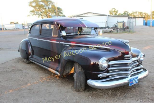 1947 Plymouth Special Deluxe 2 Door Sedan   Meyer Auction Service