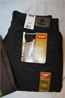 (2) Pairs of Wrangler Pants 34x30