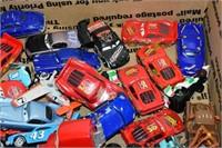 Box of Toy Disney Cars