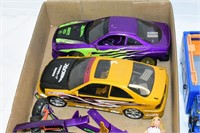 Tray of Stock Cars & Toy Truck