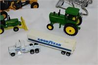 Group of John Deere Tractors, Truck & Transport