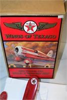 Wings of Texaco 1930 Travel Air Model R Plane