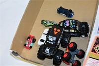 Toy Monster Trucks, Cars, etc.
