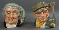 Hall's Online: Royal Doulton Toby Mugs and Figurines