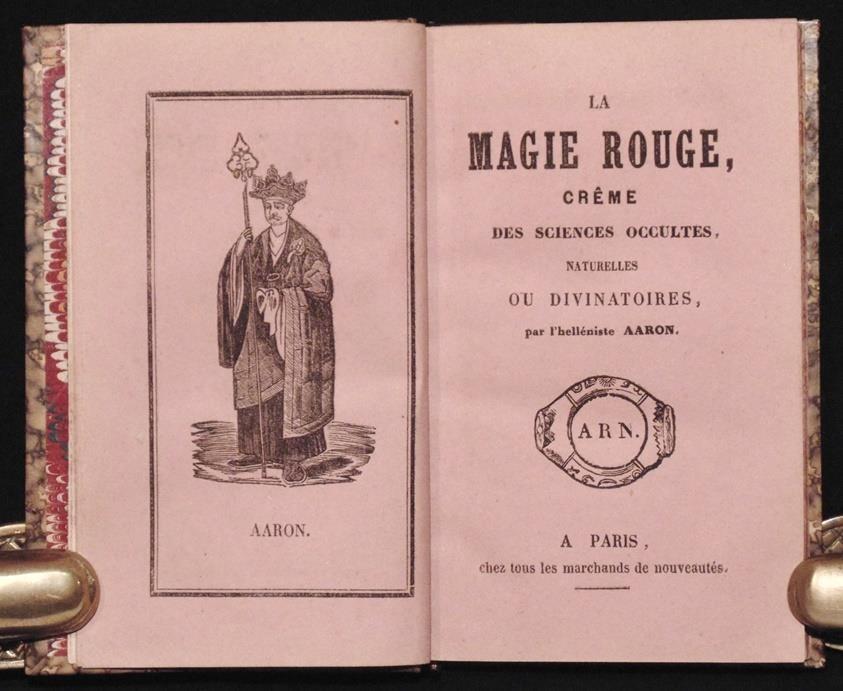 [Magic, Grimoire, Occult]  La Magie Rouge