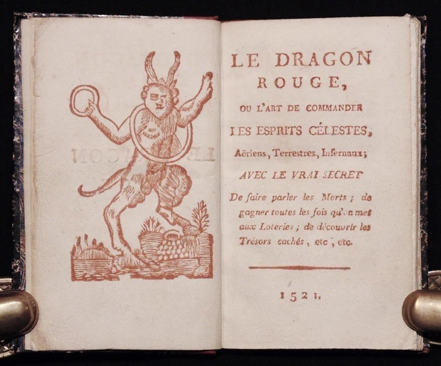 [Magic, Grimoire, Spells]  Le Dragon Rouge