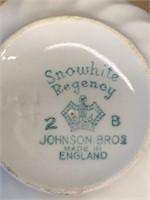 Johnson Bros Snowhite Regency Dinnerware