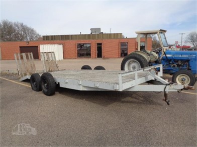 1991 HOMEMADE TANDEM AXLE TRAILER at TruckPaper.com