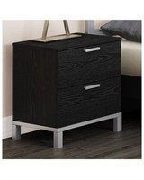SOUTH SHORE FLEXIBLE 2 DRAWER NIGHT STAND