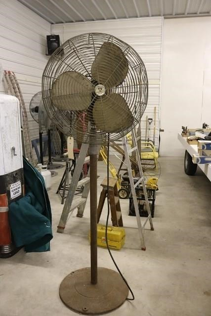 Emerson Industrial Floor Fan Hibid Auctions Iowa