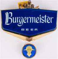 Burgermeister Beer On Tap Lighted Rotating Sign Azfirearms Com Pot Of Gold Estate Liquidations