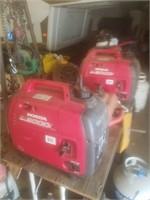 2 Honda 2000i generators