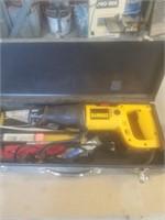 Dewalt DW304 VS reciprocating saw