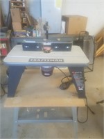 craftsman 1.5hp router table