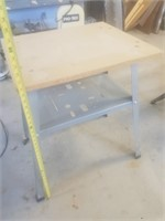 "31"" tall work table"