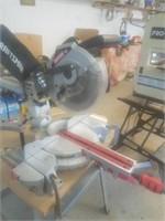 "craftsman 10"" sliding compound miter saw with laser trac"