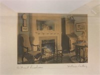 Wallace Nutting Signed Print