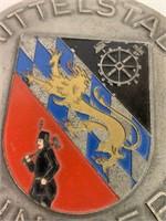 Mittelstadt St.Ingbert Metal Medallion