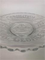 Fine 1937 Coronation of King George VI Plate