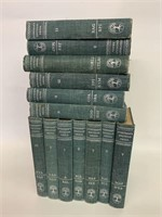 Group of  Everyman's Encyclopedia Volumes