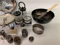 Group of Sterling Silver and Plate