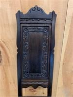 Early Oak Barley Twist Hall Chair