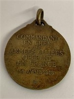 First World War French Medal