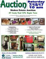 Stokes Family Estate Auction