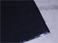 Rubber Backed Entry Mat - Black
