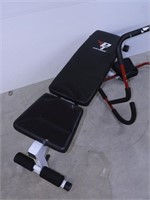 Weight Bench and Abs Rocker