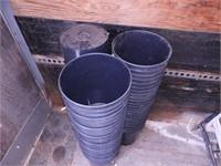 Grp, of Plastic Pots - ~4 Gal.