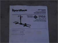 Sportrack 2EZ Premium Hitch 2 Bike Carrier