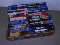 Box of Hard Cover and Paperback Novels