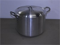 Aluminum Stock Pot with Lid