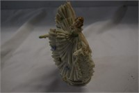 "Dresden Figurine 7"" tall- nice condition"