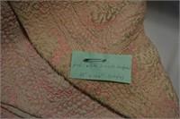 "(2) Brocade Bedspreads 80"" X 104"" (single)"