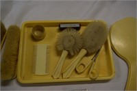 French Ivory Dresser Set