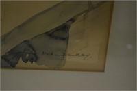 Water Colour signed Hilda Danks