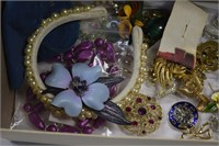 Box with Vintage Jewelry