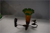 Cast Hummingbird Lamp-works