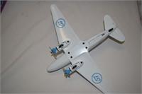 "Liberty Metal DC-3 Airplane 12"" X9"""