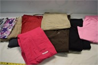 Lot of Size Small Scrub Pants & Tops (used)