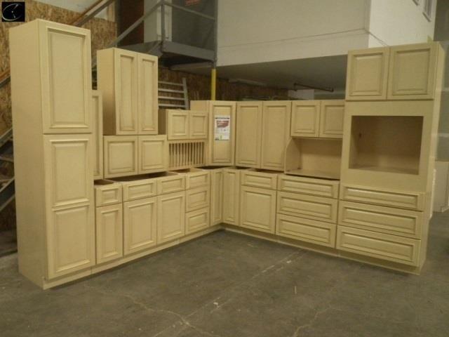 Tuscany Maple Kitchen Cabinet Set 10\'x15\'   Lambrecht ...