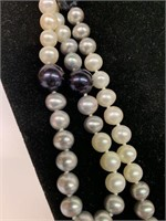 Exceptional Natural Pearl Necklace